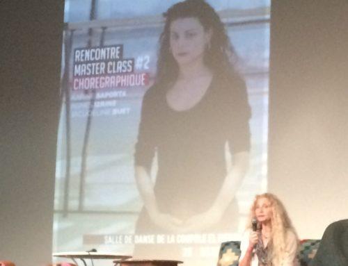 Karine Saporta au Ministère de la Culture Tunisien