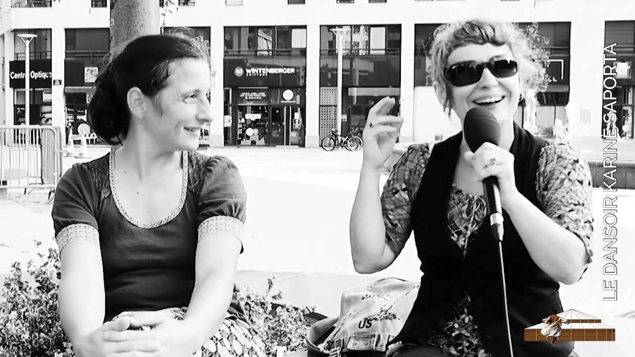 LDWTV - Entretien avec Cecile Blaizot et Élodie Fourré, de la Compagnie M'O Version 2 augmentée