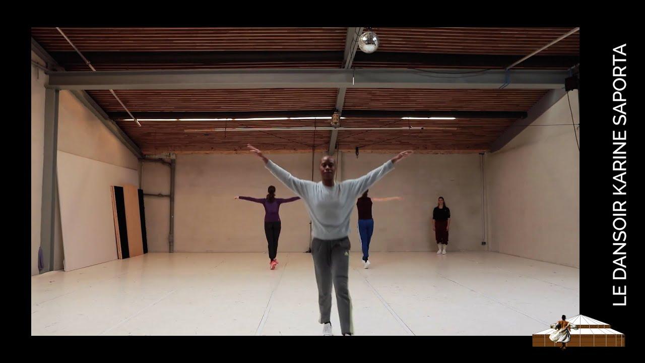 """LDWTV - """"Works in silence by Lucinda Childs"""", par la Cie Dance On Ensemble - Répétition"""