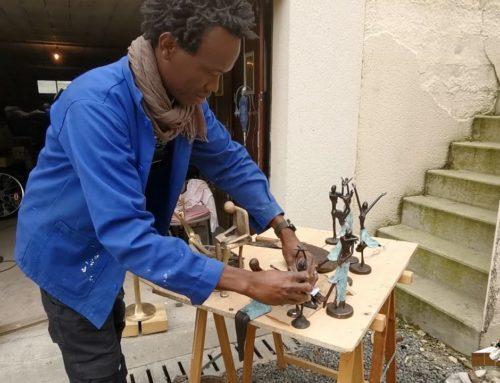 LDWTV – Souleymane Traore, sculpteur suivi de contes africains  lus par Martine Lebon