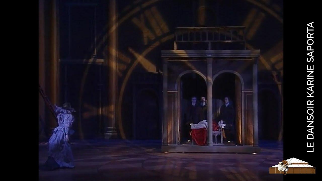 """LDWTV -  """"Belle, au bois dormant de larmes écarlate(s)"""" - Spectacle chorégraphique de Karine Saporta"""
