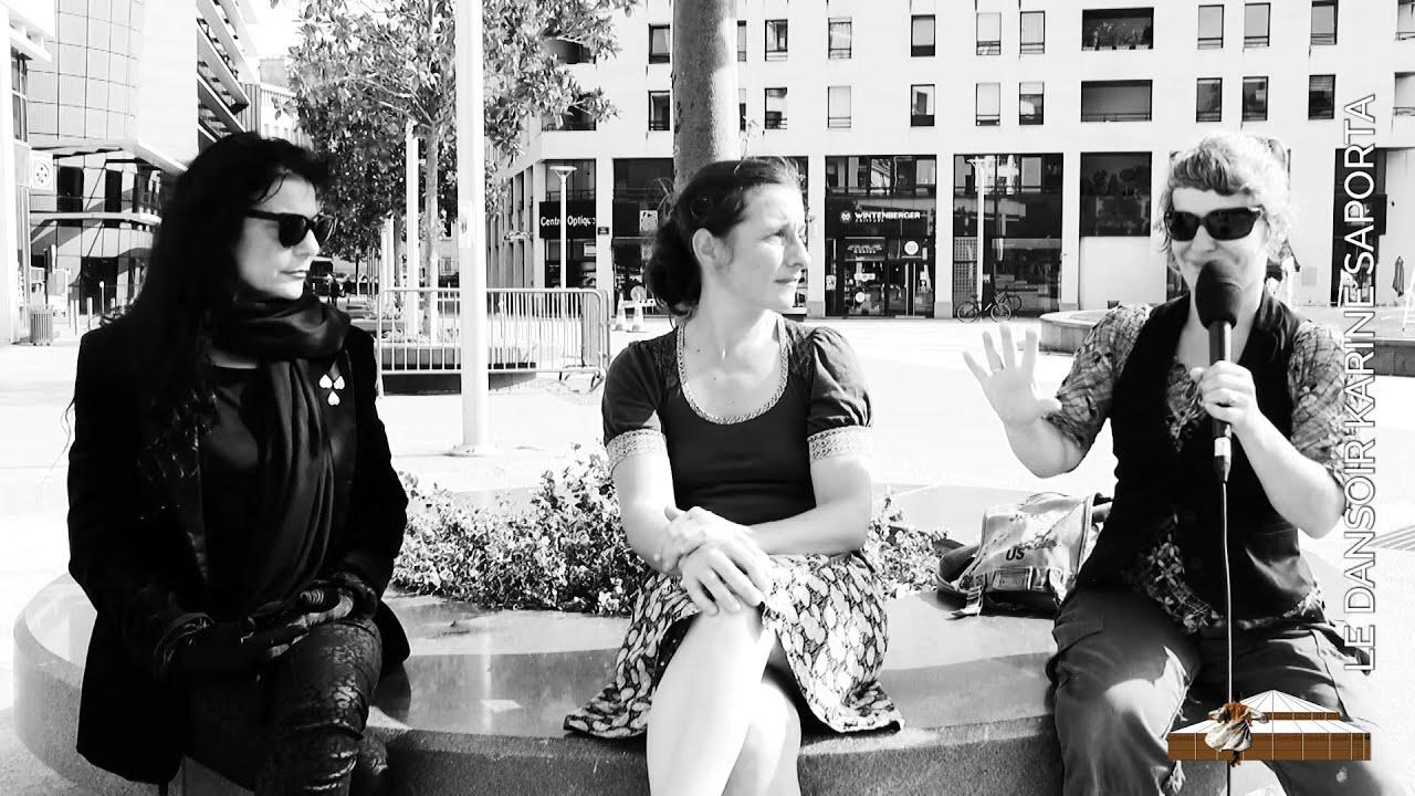 [LDWTV - Le Dansoir Web TV] Un interview de Cecile Blaizot et Élodie Fourré, de la Cie M'O