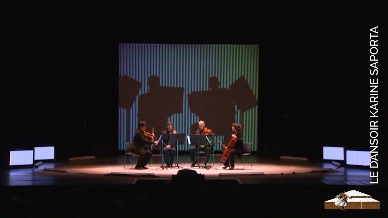 LE DANSOIR WEB TV -  Note +, concert avec le quatuor Thymos, à la Cité de la Musique