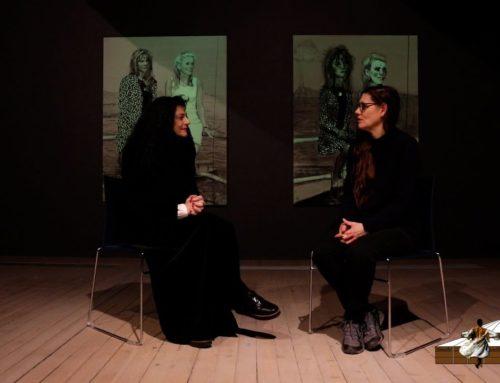 LDWTV – Karine Saporta s'entretient avec Nina Childress – Artothèque de Caen – Rediffusion