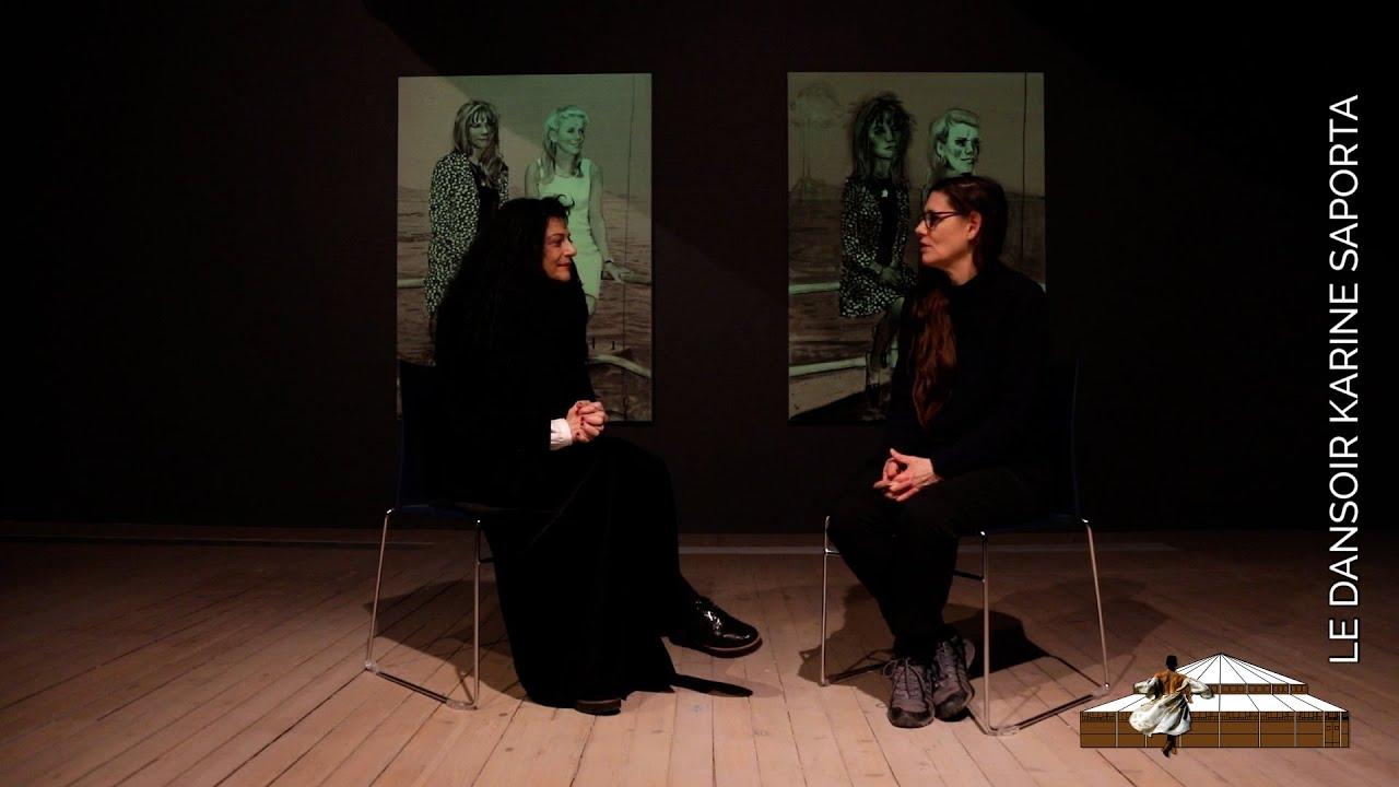 LDWTV - Karine Saporta s'entretient avec Nina Childress - Artothèque de Caen - Rediffusion