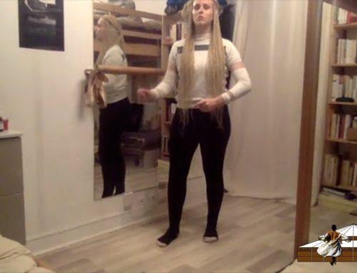 LDWTV – Cours de danse HIP-HOP avec Aurore Borgo, danseuse du Label Karine Saporta – 6 mars 2021