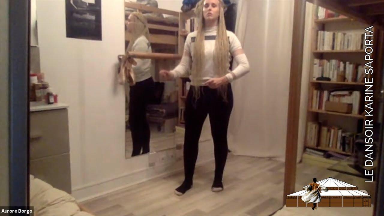 LDWTV - Cours de danse HIP-HOP avec Aurore Borgo, danseuse du Label Karine Saporta - 6 mars 2021