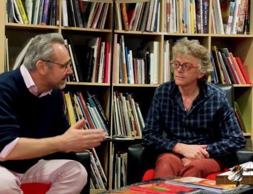 LDWTV – présentation de l'ARTOTHÈQUE de Caen, avec Yvan Poulain, Patrick Roussel et Karine Saporta.
