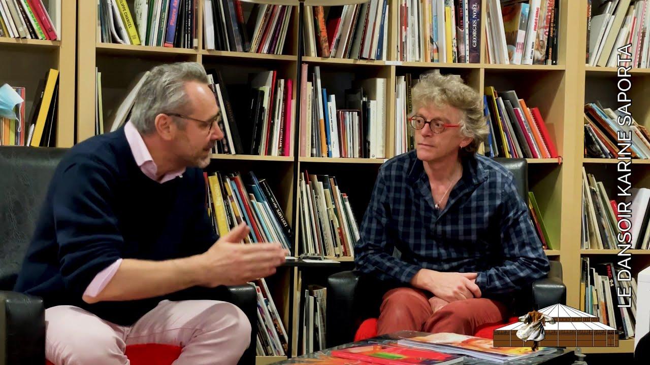 LDWTV - présentation de l'ARTOTHÈQUE de Caen, avec Yvan Poulain, Patrick Roussel et Karine Saporta.