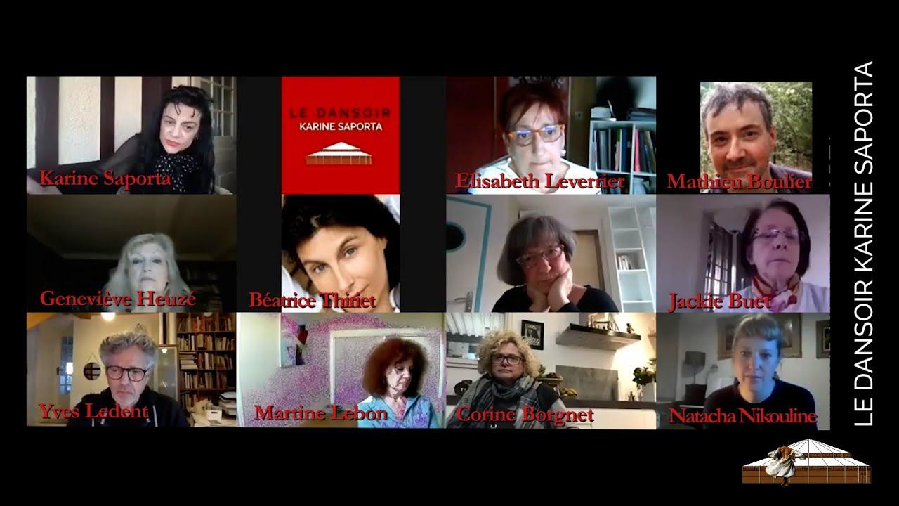 Particip' ACTIFS - Les Entretiens de Karine Saporta avec des artistes et des personnalités invités.