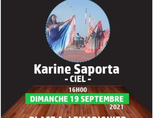 Journées Européennes du Patrimoine – CIEL spectacle de danse contemporaine Création 2021 de Karine Saporta